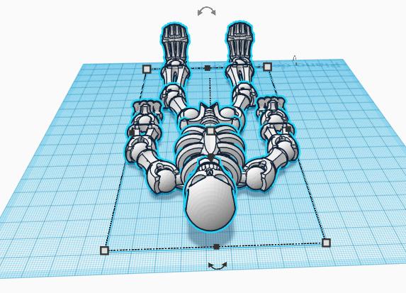 esqueleto2.png Télécharger fichier STL gratuit ossature • Design imprimable en 3D, brayanrosas94
