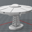 Download free 3D print files UFO lamp, brayanrosas94