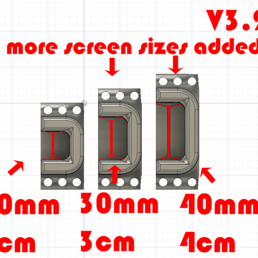 Done_V3.2_bodies.png Download free STL file Monitor Stand / Legs  • 3D print model, jono207