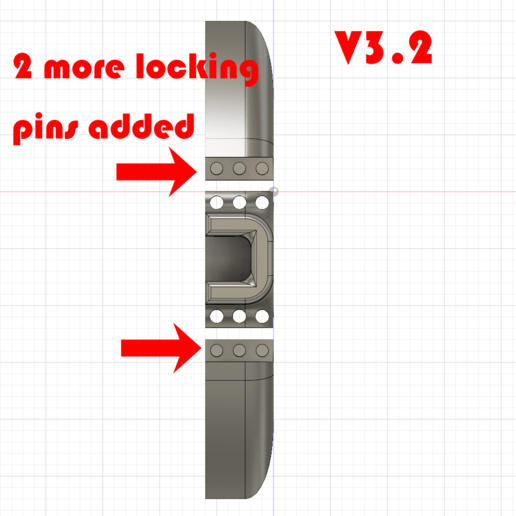 Done_V3.2_Pins.png Download free STL file Monitor Stand / Legs  • 3D print model, jono207