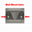 Wall Mount.png Download free STL file Heavy Duty Soap Box and Toothbrush holder • 3D printing model, Darkoneson