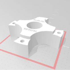 Sin título.png Télécharger fichier STL séparateur avant de quad yamaha raptor, yfz, banshee. • Objet à imprimer en 3D, nahuel4445