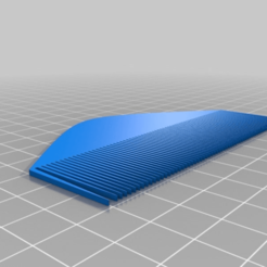 Download free 3D printer designs Comb, Zastavan