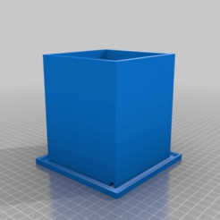 Download free 3D printer designs Zastavans Cubey Planter, Zastavan