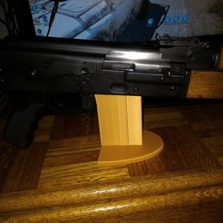 P_20190503_150905.jpg Download free STL file AK Rifle Stand • 3D printable design, Zastavan