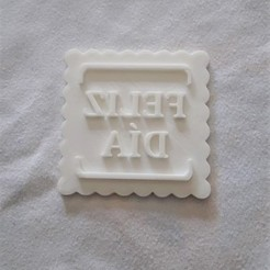 WhatsApp Image 2020-08-13 at 13.56.06.jpeg Download STL file Happy Day Marker Cutter • 3D printing object, Todo3DJunin