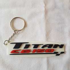 WhatsApp Image 2020-10-26 at 13.00.25.jpeg Download STL file Honda Titan cg150 key ring • 3D printable model, Todo3DJunin