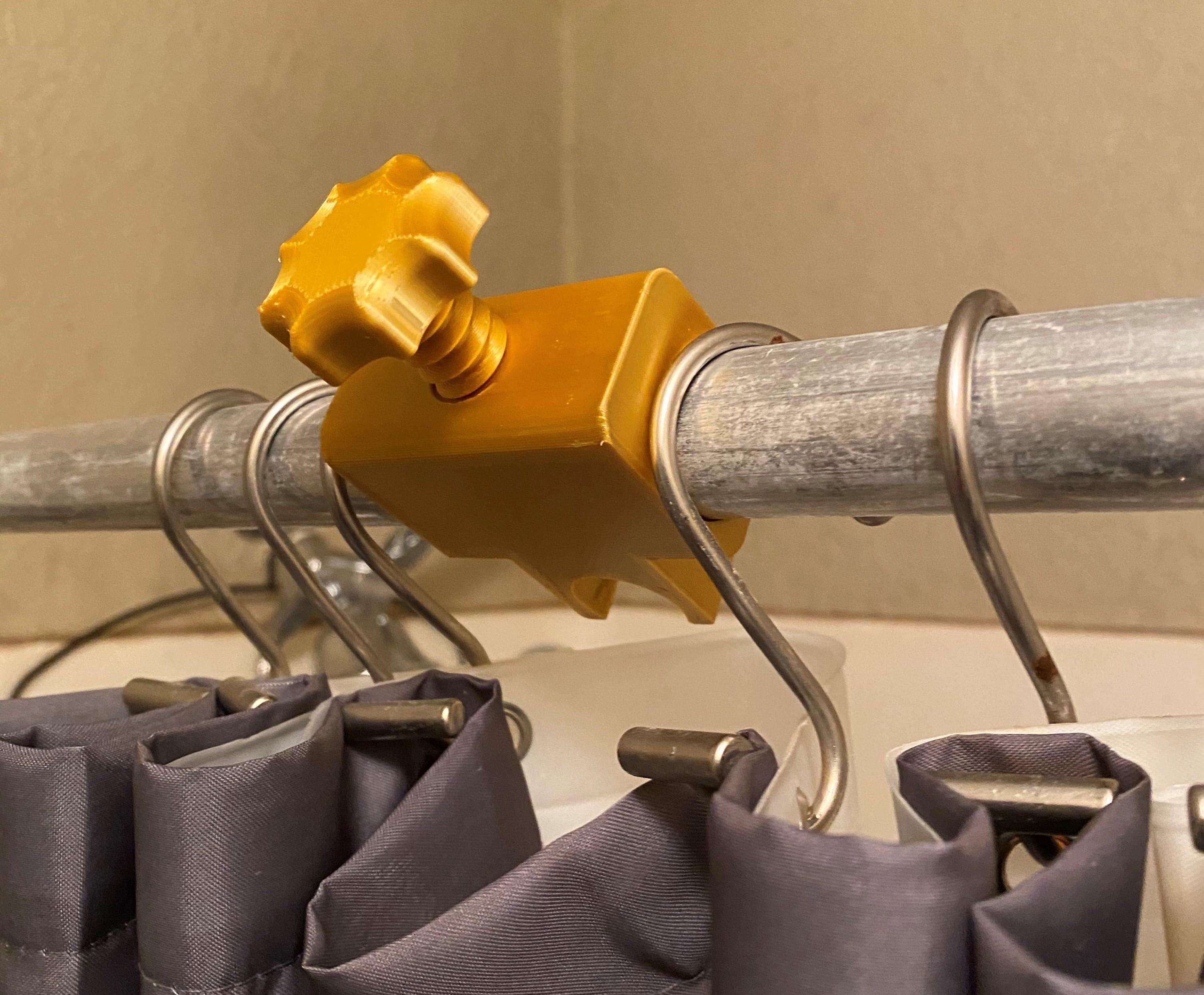 Shower Head Holder Rears.jpg Download free STL file Shower Head Holder • 3D printing template, HomeLite