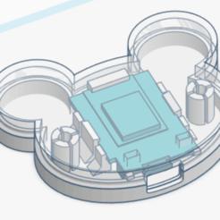 "picults1.png Download STL file Wemos D1 mimi case ""Panda"" • 3D print model, arduinominilabs"