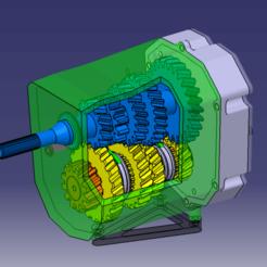 Descargar Modelos 3D para imprimir gratis Caja de cambios, Hito