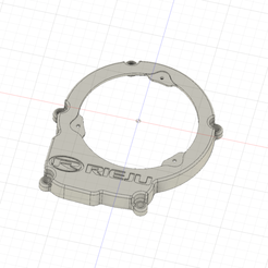 CACHE ALLUMAGE rieju v2.png Download STL file Ignition cover AM6 Rieju • Object to 3D print, rritter11