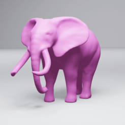 Elephant_preview.png Download STL file Elephant • 3D printing object, 3DyhrDesign