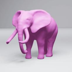 Elephant_preview.png Télécharger fichier STL Eléphant • Plan pour impression 3D, 3DyhrDesign