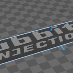 RABBIT INJECTION.PNG Télécharger fichier STL Emblème de VW pour l'injection de lapin • Objet pour impression 3D, eulisesluishdz