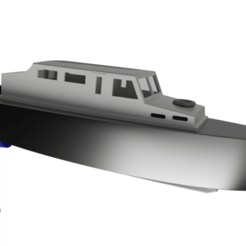 Download free 3D printing files RC Boat MOA, Tomkanovik