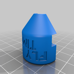 Pagoda_shell_L.png Download free STL file FlyTime 5.8 GHz Pagoda Antenna Shell • Object to 3D print, Tomkanovik