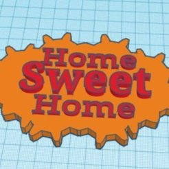 Télécharger STL Slapt Home Sweet Home, henriquesnuno