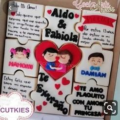 san valentin.jpg Download STL file valentine's day,love & friendship day,cookie cutter,february 14th,cookies,valentine's day ,cookie cutter • 3D printable object, Cutkies