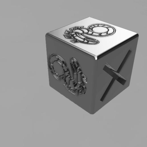 anarchy dice medium v2 v4.png Download free STL file Shadowrun anarchy dice • 3D printer design, olivhood