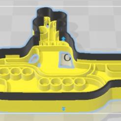 Descargar modelo 3D Cortante de galletitas  - Yellow Submarine , sebasyanguela