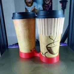 IMG_20200920_112136.jpg Télécharger fichier STL gratuit Double panier à café • Modèle à imprimer en 3D, RojoGrande79