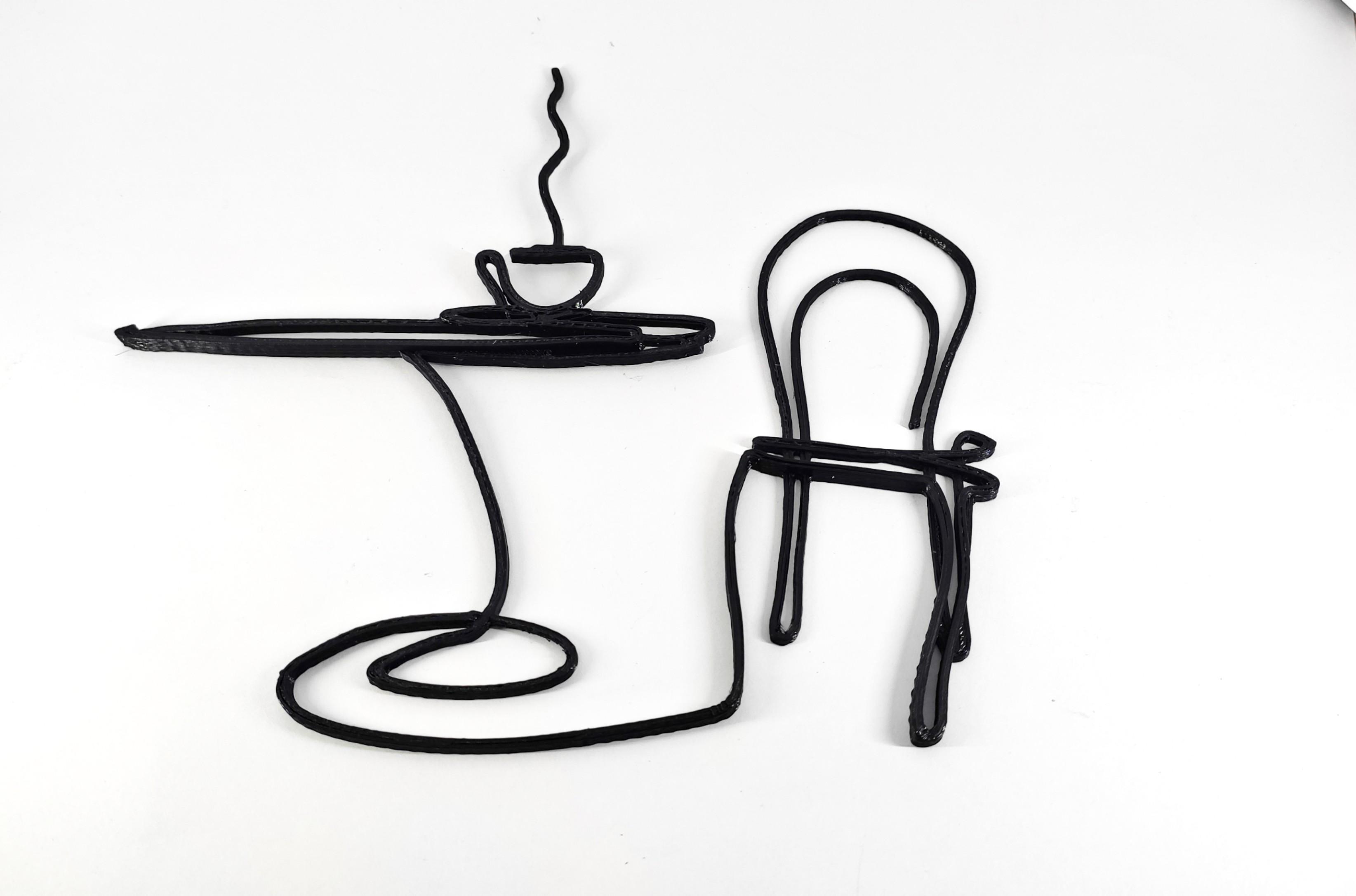 Coffee.jpg Télécharger fichier STL gratuit Art décoratif mural du café • Objet à imprimer en 3D, EstebanBravo