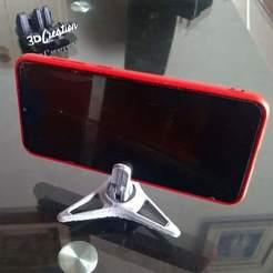 Descargar Modelos 3D para imprimir gratis Mini trípode para smartphone , EstebanBravo