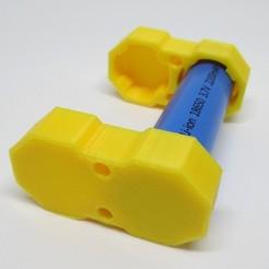 SAM_1477.jpg Télécharger fichier STL PORTE-PILES 18650 • Plan pour impression 3D, niethammer