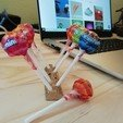 Download free STL file lollipop trunk • 3D printer template, thomaslamotte22