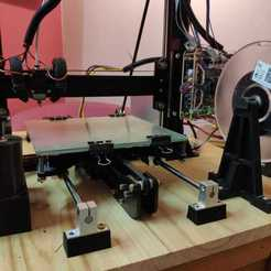 Download free 3D printing templates Linear rails Y axis height adapter , Albuquerque