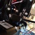 Download free STL Back Threaded rod Z-brace for Tevo Tarantula (anti vibration), dfa