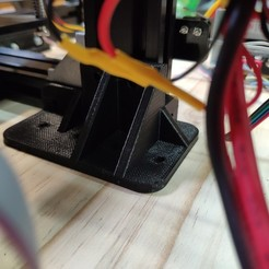 Download free 3D printing templates Lower right bracket for Tevo Tarantula, dfa