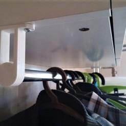 Download 3D printer templates Clothes hanger, dfa