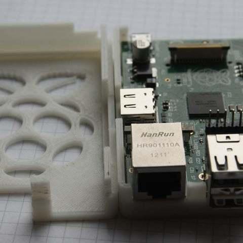Download free STL file Raspberry Pi case, Urukog