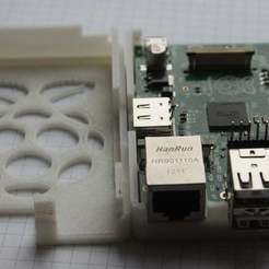 Download free STL file Raspberry Pi case, Urukog