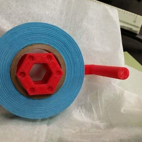 Télécharger fichier impression 3D gratuit Support de ruban de 0,5 po, Urukog