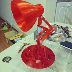 Download free 3D printing models Pixar Lamp with a Sharingan-Inspired Base, Urukog