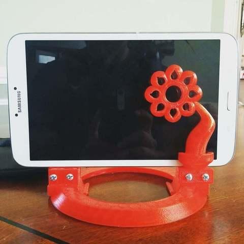 Télécharger STL gratuit Support de tablette - Samsung, Urukog