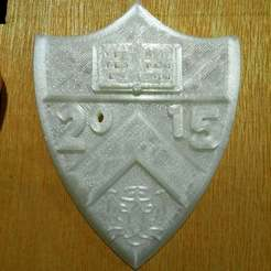Download free 3D printing files Princeton Shield with Tiger 2015, Urukog