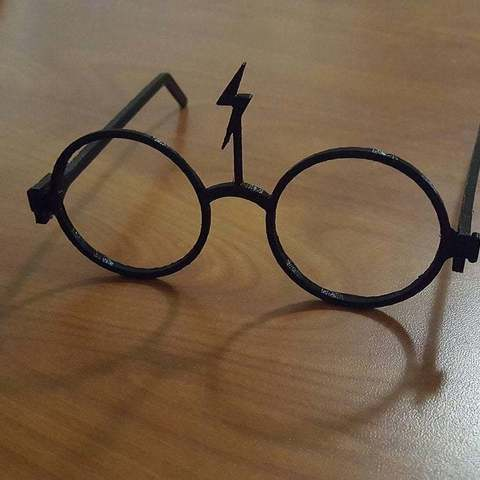 Download free 3D printing templates Harry Potter Glasses, Urukog
