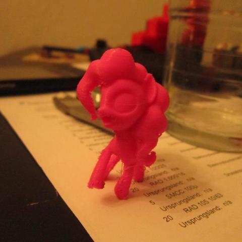 Download free STL file MLP:FIM - Pinkie pie: Alternative pose. • 3D printer object, Urukog