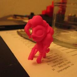 Download free 3D printer files MLP:FIM - Pinkie pie: Alternative pose., Urukog