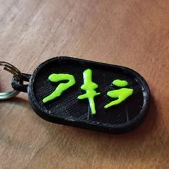 Download 3D model AKIRA Keychain, mat_osm