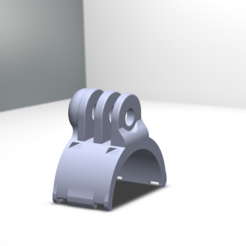 SoporteManillar_2.PNG Download STL file GoPro handlebar mount // GoPro handlebar support • 3D printable object, mat_osm