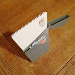IMG_20181105_203302.jpg Télécharger fichier STL gratuit Portefeuille mince avec porte-argent • Modèle à imprimer en 3D, joschkriebler