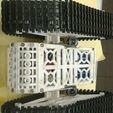 Descargar archivos STL gratis Tank T300 3D Con Oruga Caterpílar Arduino, Obenottr3D