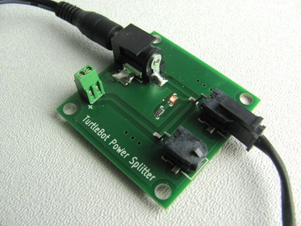 spltr-01_display_large_display_large.jpg Download free STL file TurtleBot Power Splitter • 3D printing object, Obenottr3D
