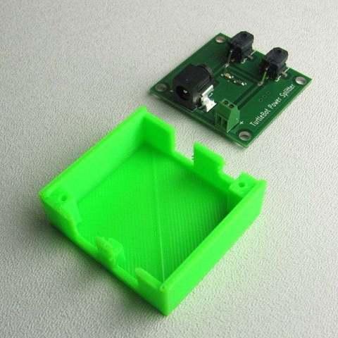 spltr-02_display_large_display_large.jpg Download free STL file TurtleBot Power Splitter • 3D printing object, Obenottr3D
