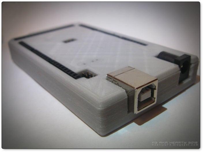 ArduinoMega-box_05_display_large.jpg Télécharger fichier STL gratuit Arduino Mega étui confortable • Plan pour imprimante 3D, Obenottr3D