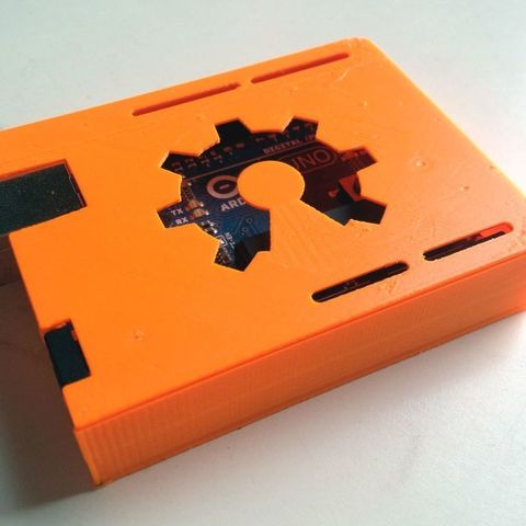 Download free STL file Slim Arduino Uno Case ・ Cults